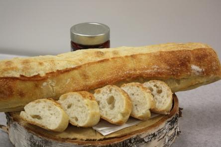 Baguette ciabatta-Boulangerie du lac