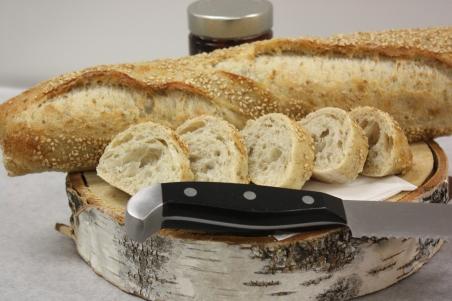 Baguette sésame-Boulangerie du lac