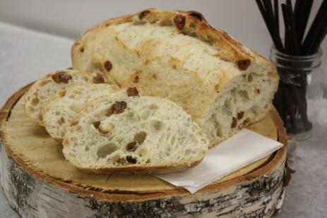 Batard pommes raisins-Boulangerie du lac