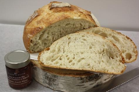 Miche rustique-Boulangerie du lac