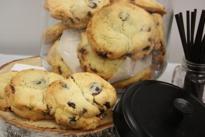 cookies canneberges-Boulangerie du lac