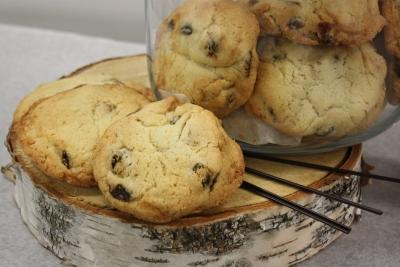 cookies raisins et noix-Boulangerie du lac