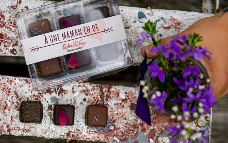 chocolats fete des mères