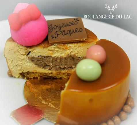 CARACAO caramel, crème brulée, Biscuit 4.25$